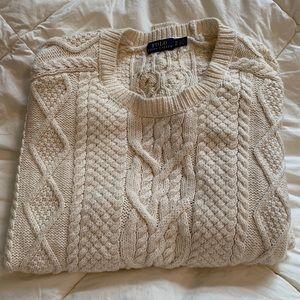 Women's Ralph Lauren ivory sweater